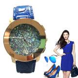 Yxl-643 Korean Style Big Size Ladies Diamond Face Quartz Wrist Watches