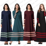 Muslim Women′s Clothes Kaftan Islamic Long Sleeve Abayas (A273)