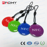 Thin 13.56 RFID NFC Fob for Advertising