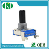 14mm Horizontal Type Rotary Potentiometer with Plastic Shaft Wh142A-2