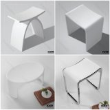 Solid Surface Artificial Stone Bathroom Shower Stool