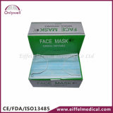 3-Ply Disposable Medical Non-Woven Dust Surgical Face Mask