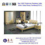 Wooden Single Bed Simple Bedroom Sets Furniture (F03#)