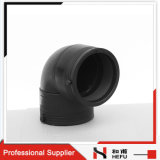 90 Degree HDPE Plastic Standard Weld Elbows for Pipe
