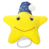 Wholesle Baby Soft Plush Star Musical Pull String Toy
