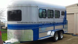 3 Horse Trailer Angel Load Deluxe Version with Kitchen and Sink