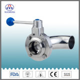 Stainless Steel Manual Elbow Type Butterfly Valve