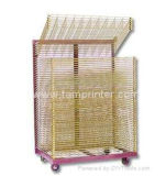 Sublimation Paper Screen Printing Drying Racks Trolley
