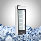Upright Single Glass Door Beverage Cooler