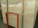 Super White Travertine Slabs for Wall and Flooring
