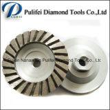 Concrete Floor Cutting Cup Disc 4′′ Diamond Segment Grinding Wheel