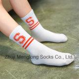Classic Stripes Pattern Knitted Socks Lovely Girl Student Cotton Socks