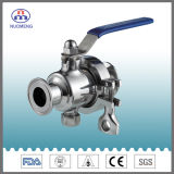 3A Stainless Steel Clamped Non-Residue Ball Valve for Pharmacy