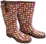 Women's Hearts Rainboots (L0008)