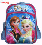 Fashion Frozen Anna&Elsar Cute Cartoon Kids School Bags Backpack