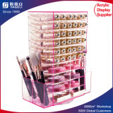 PMMA/Acrylic Lipstick and Powder Spinner with Plexiglass