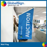 2015 Hot Selling Polyester Wall Mounted Flag, Wall Flags (GWF-A)