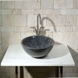Natural Stone Blue Pearl Granite Sinks for Bathroom