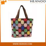 China Manufacturer Women Polyester Random Color Shopping Handbag Bag