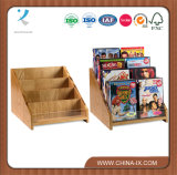 3 Tiered Wooden Counter Top Rack for CD and DVD