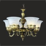 Chandelier Lamp Glass Chandelier (GD-1035-5)