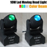 10W RGBW 4in1 Mini LED Moving Head Beam Light
