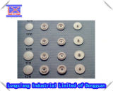 Plastic Injection Mould Manufacturer for Snap Button Cover, Rain Coat Button Cover