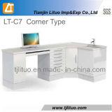 Good Quality Metal Steel Corner Type Dental Cabinet