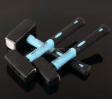Double Color TPR Handle Stoning Hammer in Tools XL0062