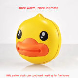 Factory Supply Mini Cartoon Yellow B. Duck Hand Warmer Power Bank 6000mAh Hot Sale for Christmas Gift