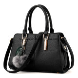 Women PU Fashion Evening Leather Hand Bag Designer Lady Handbag (FTE-052)