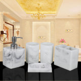5PCS Marble Acrylic Bathroom Toiletry Organizer