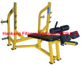 hammer strength, fitness equipment, gym machine, body-building, Olympic Decline Bench (HS-4011)