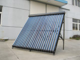 24tubes Black Aluminum Alloy Heat Pipe Solar Collector