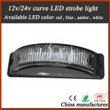 High Brightness Curve LED Strobe Lights in DC10-DC30V