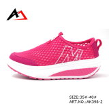 Health Shoes Swing Wedges Casual Breathable Footwear for Women (AK398-1)