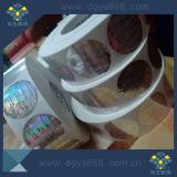 Highly Security Seal Adhesive Hologram Stickers in Rotary Roll Format