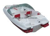 China Aqualand 17feet 5.2m Fiberglass Speed Boat/Sports Power Boat/Fishing Boat/Motor Boat (170)