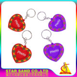 Top Factory Offer Cute Cartoon Logo Photo Frame with Keychain