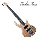Hanhai Music / 5-String Electric Bass Guitar with Original Matte Body