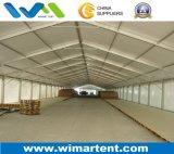 Aluminum Ridge Shape Temporary Warehouse Tent for Military, Work Shop, Aircraft Hangar