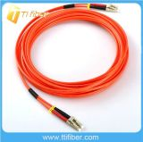 Multimode Duplex Fiber Optic LC/LC Patch Cord