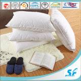 White 100% Cotton Cover Goose Down Filled Pillow