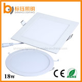 18W IP44 Bathroom Lighting LED Ceiling Panel Down Light (Square/Round 90lm/w 1620lm 2700-6500k AC85-265V)