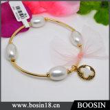 New Personal Design Copper Golden Expandable Charm Bracelet Bangle #31470