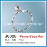 Factory Direct Sales Sanitary Ware Towel Ring (J6026)