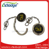 Promotional Gift Matel Purse Hanger with Keychain