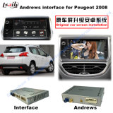 Auto HD Multimedia Video Interface Android GPS Navigator for (13-16) Peugeot 2008 Support Google Map/Igo/TV