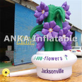 Advertising Inflatable Character Flower Replica for Display