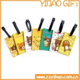 Lovely Cartoon Design PVC Luggage Tag for Advertising Gifts (YB-t-005)